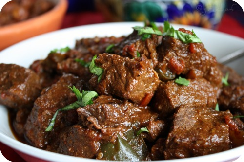 authentic carne guisada