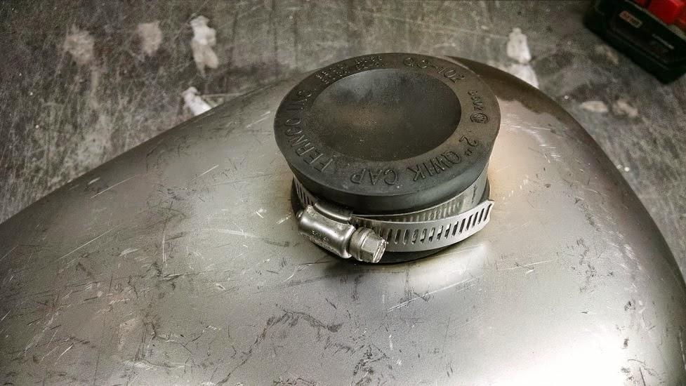 Toilet Gas Cap : Rullo custom cycles march