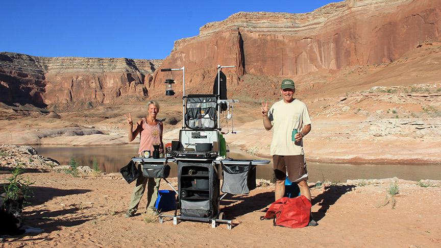 Grub hub blog and outdoor ramblings camping at lake for Camping and fishing in arizona