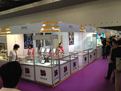 Gandhi Jewels in Shanghai Jewellery Show 2012