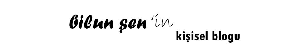 Bilun Şen'in Kişisel Blogu