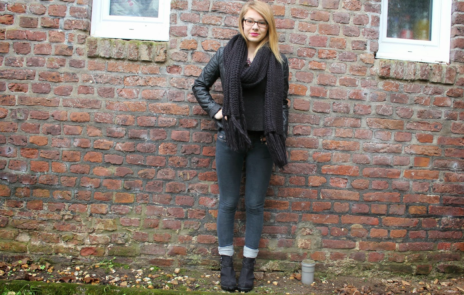 Classy & grunge outfit | H&M