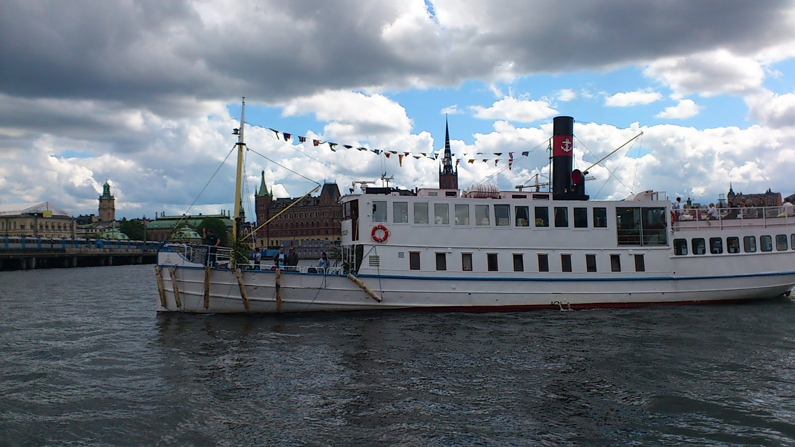 drottningholm båt