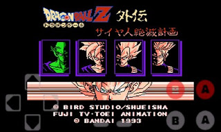 Screenshots of the Dragon Ball Z Collection for Android tablet, phone.