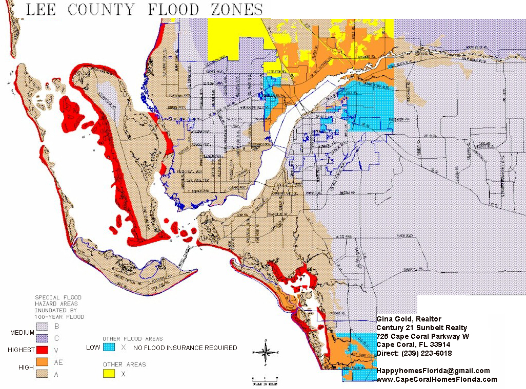 Naples Bonita Springs Real Estate In Paradise Flood Zone Map For - Florida flood plain map