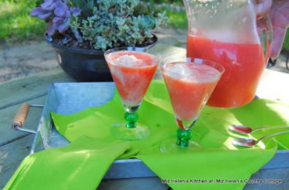 Watermelon Lemonade Float