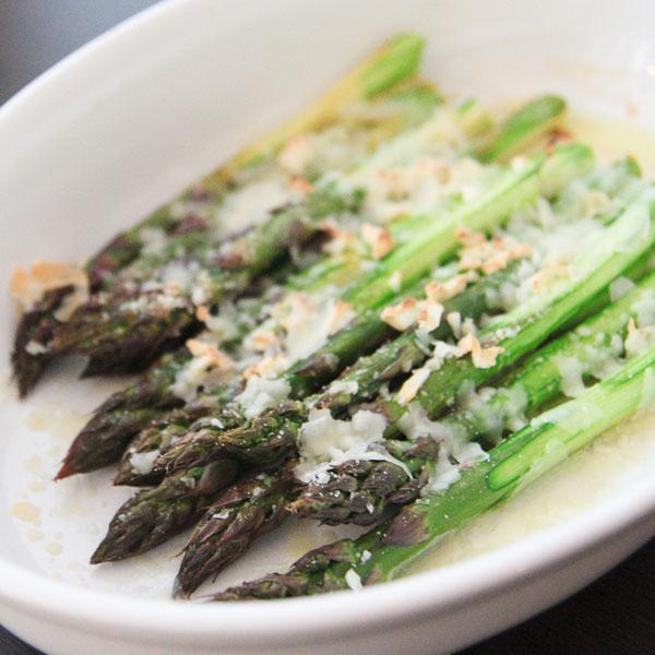 ...   Recipes   Reviews   Veggie Resolution #6: Asparagus Au Gratin