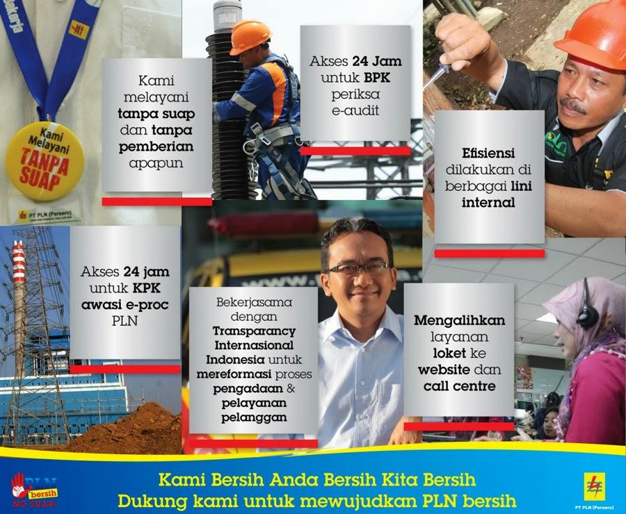 Program PLN Bersih No Suap