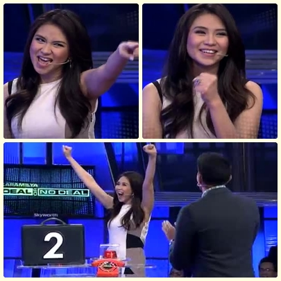 Sarah G faces Banker in Deal or No Deal. Will briefcase no. 2 be her lucky charm?