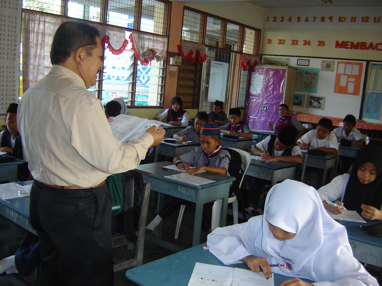 Klinik UPSR B Inggeris Bersama Cikgu Buang Kardi