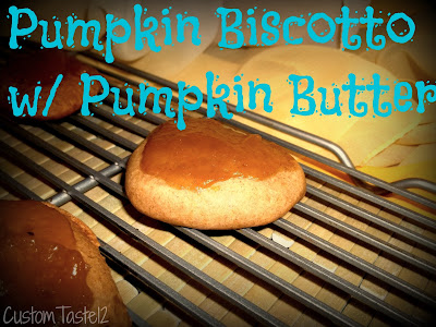 Pumpkin Biscotto by Custom Taste on Homemade Not Pre Made
