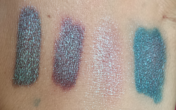 Urban Decay Moondust Eyeshadow in Solstice dupes swatches review