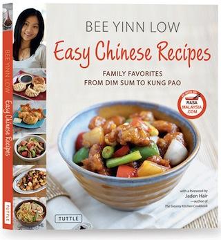 rasa malaysia's easy chinese recipes cover