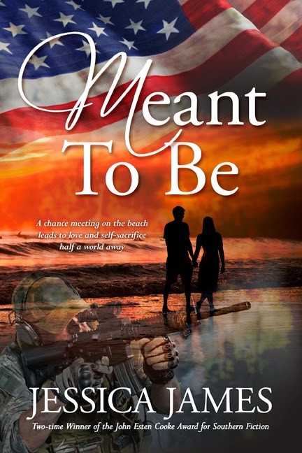 Meant To Be romantic military fiction by Jessica James