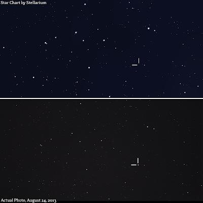 nova del 2013 star chart