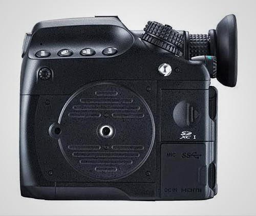 Kamera Pentax 645Z Samping 2