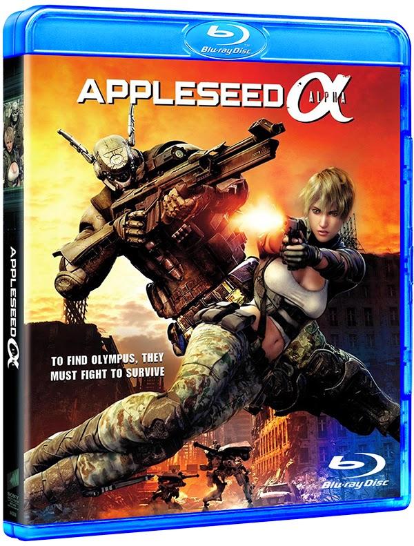 Appleseed Alpha (2014) BluRay 1080p Dual Áudio