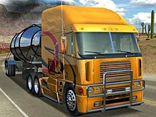 لعبة سائق الشاحنة المجنون