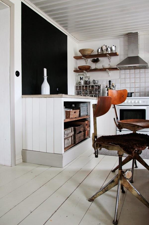 Vivre Shabby Chic: Vintage House: labitazione industrial ...