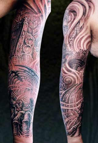Tattoos change sleeve tattoos for men for Arm sleeve tattoo ideas guys
