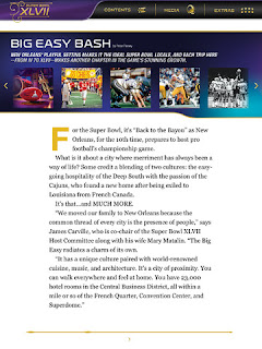 Super Bowl XLVII Official NFL Game Program 001