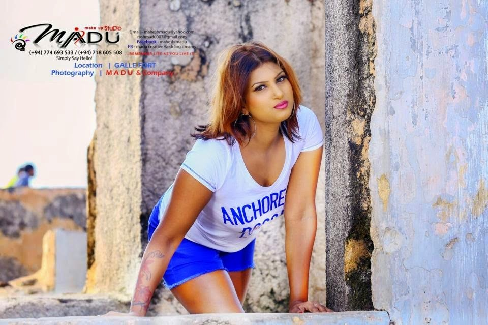 Sri Lankan Actress Latest Hot Photos