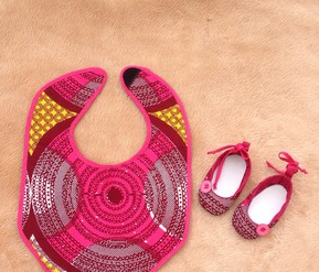 Ankara Designs: Baby Aprons and Bibs