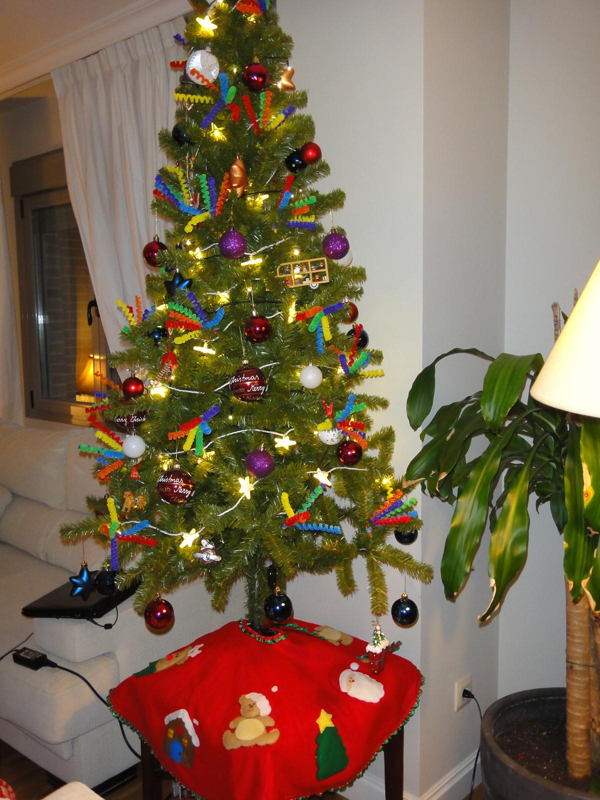 Fiestadecuquis ideas para colgar en tu rbol navide o - Decoracion de arboles navidenos para ninos ...