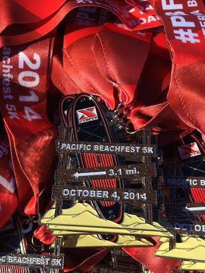Pacific Beachfest 5K 2014