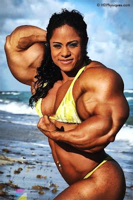 Kashma Maharaj female muscle morph