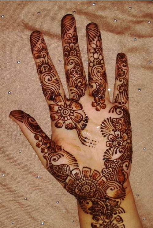 Arabic Mehndi Photography : Arabic mehndi designs for hands shadi pictures