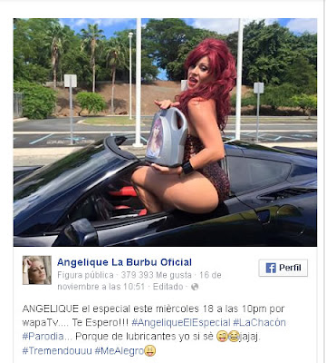 Controversial Parodia Angelique Burgos Vs Iris Chacon
