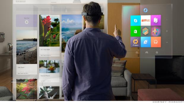 Hands on Microsoft Hololens, Kacamata Canggih Microsoft
