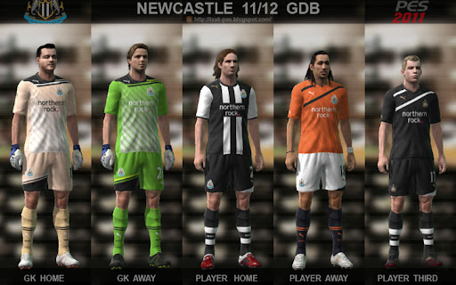 Newcastle 11/12 Kit Set by Txak