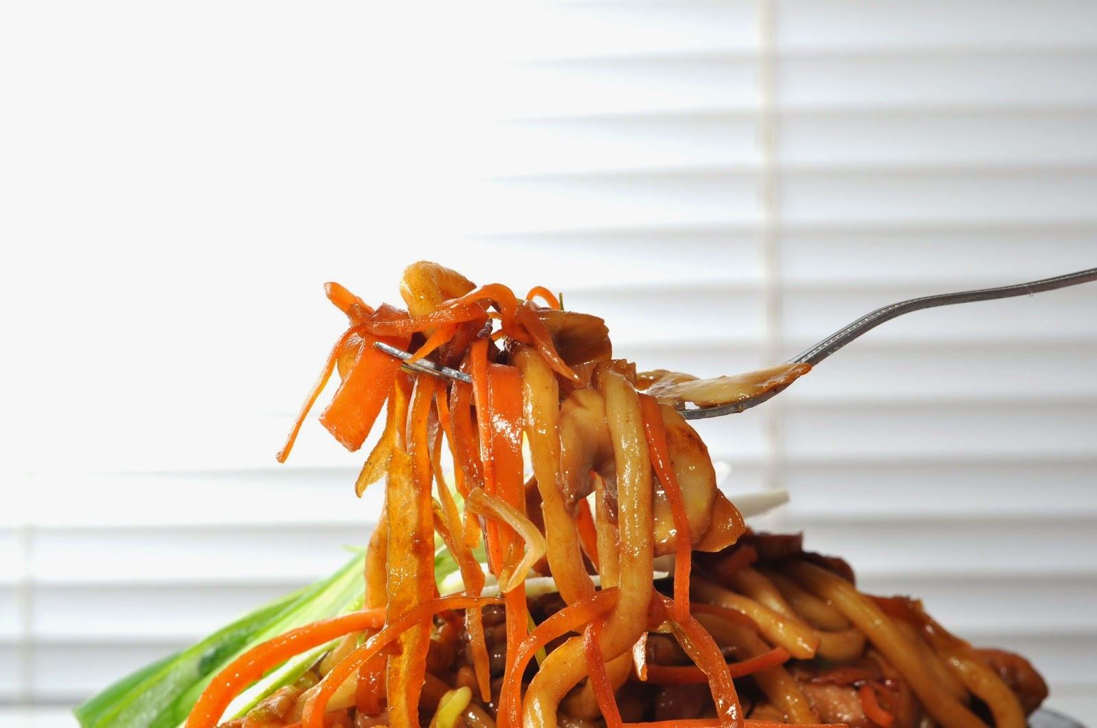 Hoisin Chicken Noodles ~ Simple Food