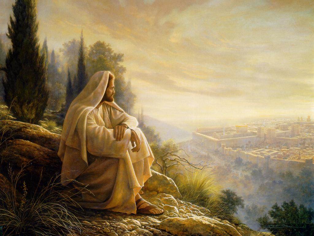 Image result for mount of olives jesus