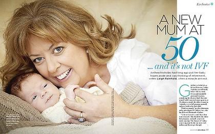 Pregnancy at 50 symptoms gone