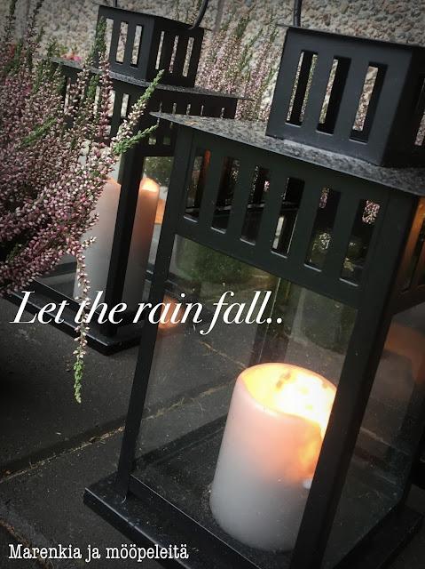 Ikea lantern & candles