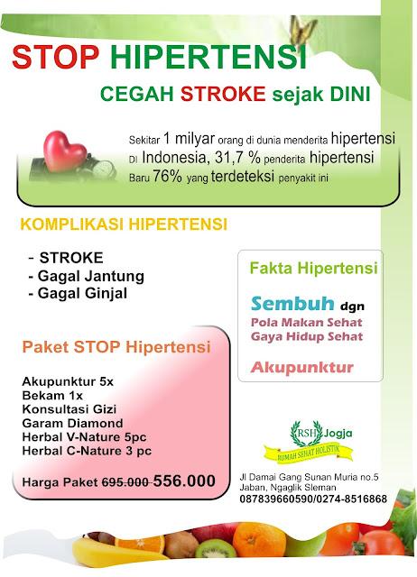 Stop HIPERTENSI, Cegah STROKE Sejak Dini ~ Klinik ...