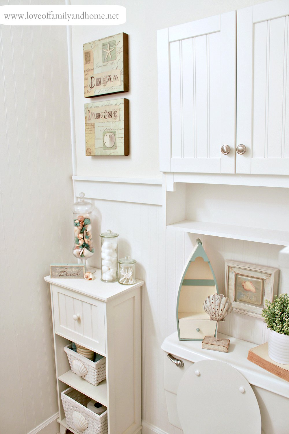 Ideal Hallway Bathroom Makeover Reveal