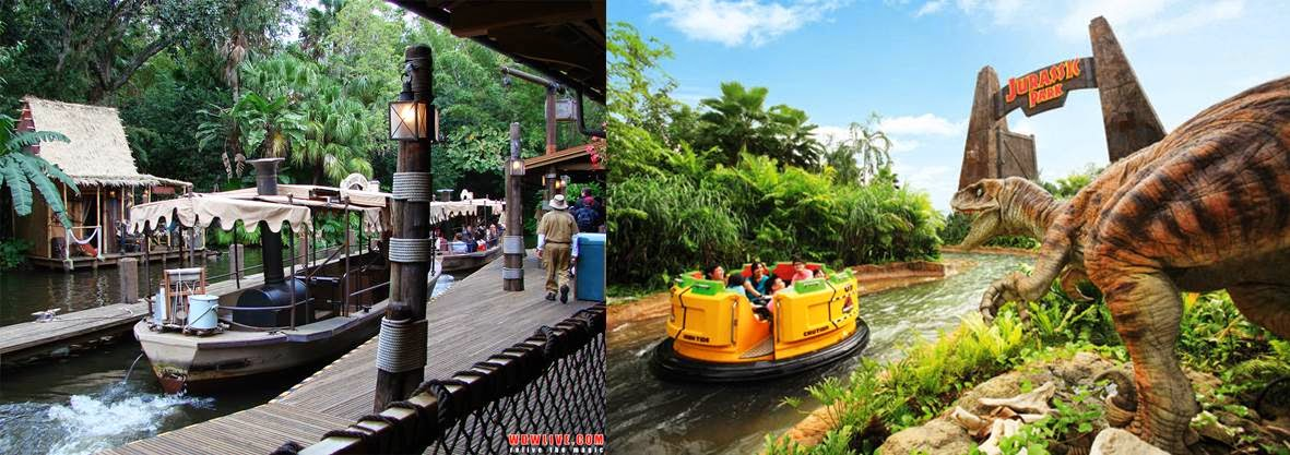 Second Drop Attractions: Hong Kong Disneyland vs Universal ...