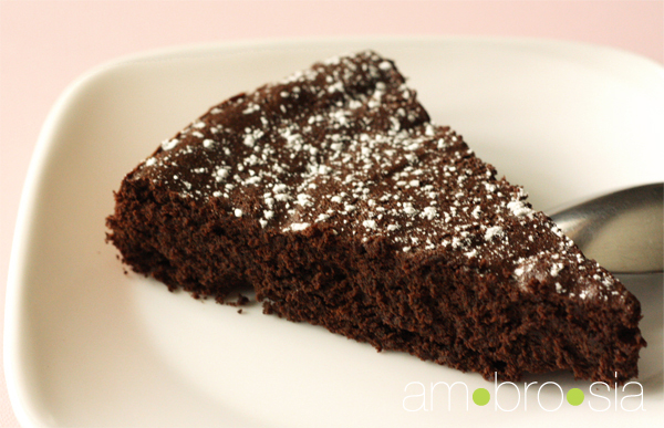 ambrosia: Flourless Chocolate Cake