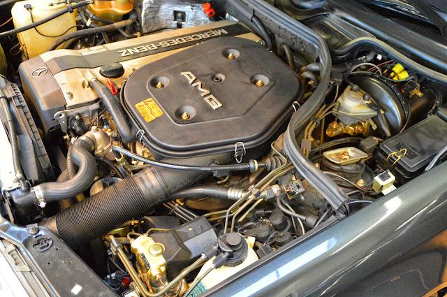 w124 amg engine