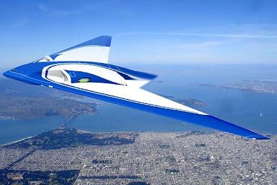 NASA Flying Wing Aircraft