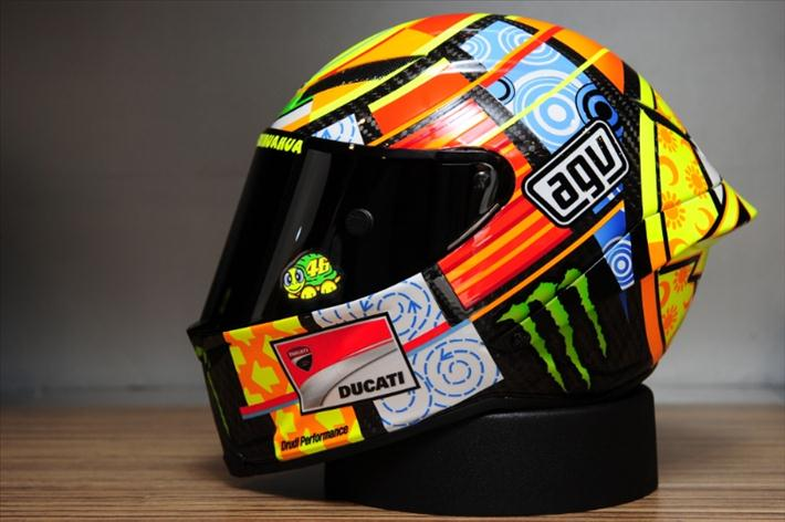 agv valentino rossi helmet the art of motorcycle. Black Bedroom Furniture Sets. Home Design Ideas