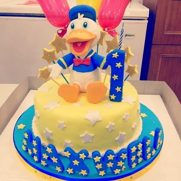 Diseños de Tortas Decoradas del Pato Donald : Fiestas Infantiles ...