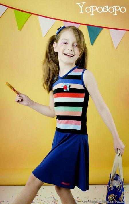 yoposopo vestidos nenas verano 2014