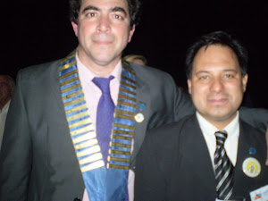 APIMONDIA 2011. junto a Lucas Martinez Presidente del Congreso