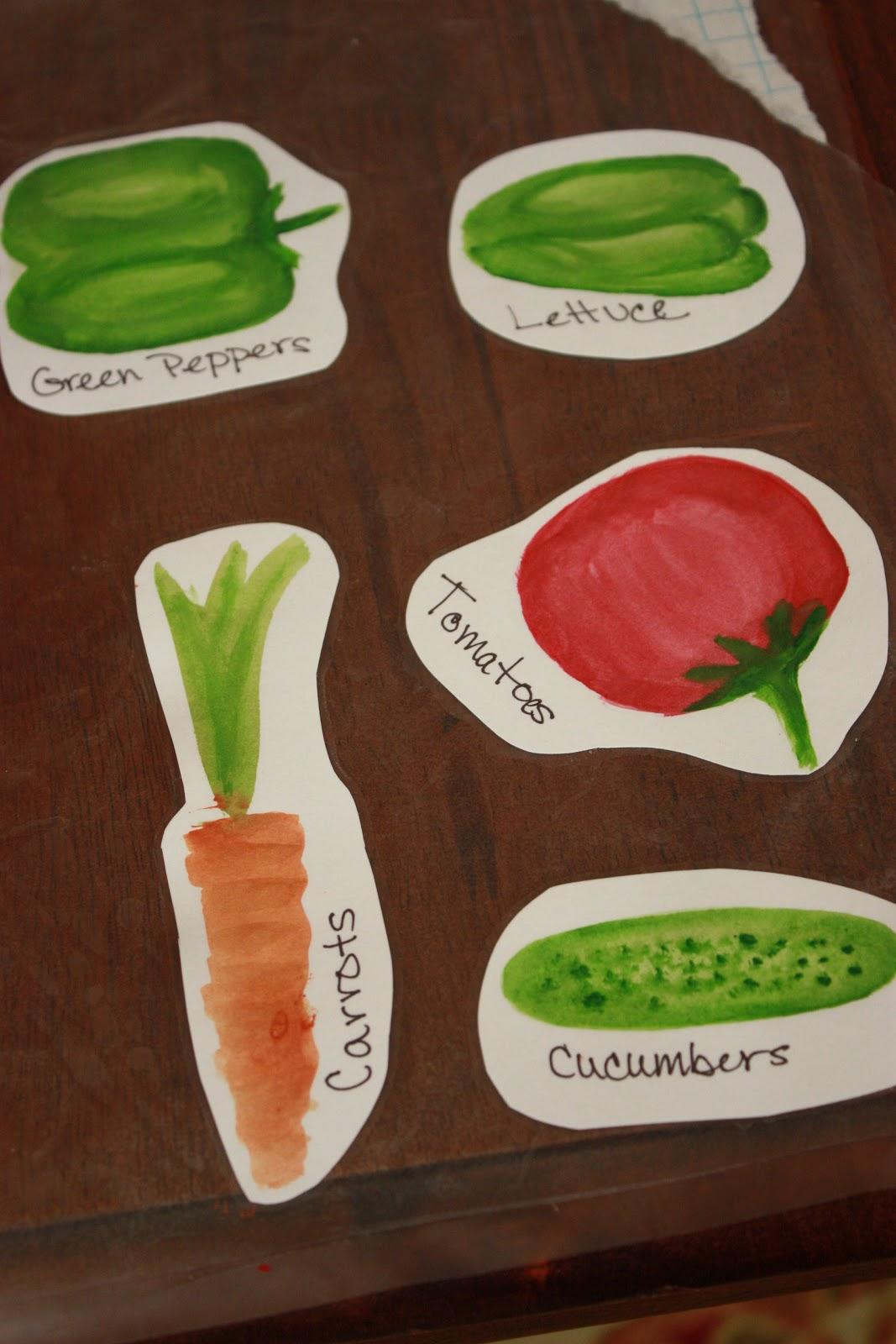 Sew Totally Smitten: Creative Garden Labels