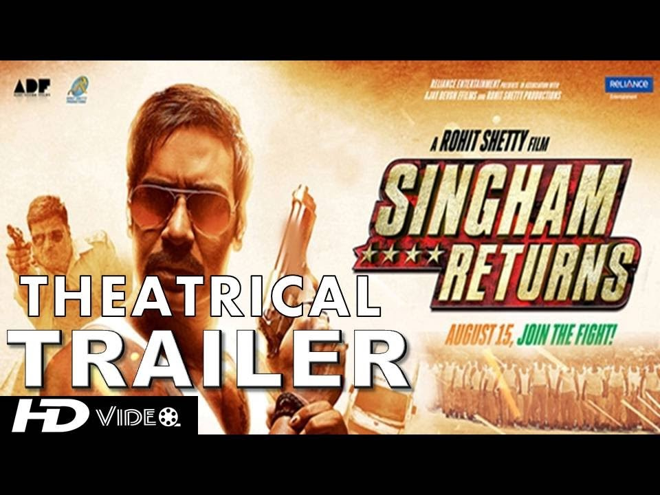 Singham Returns (2014) Theatrical Official HD Trailer
